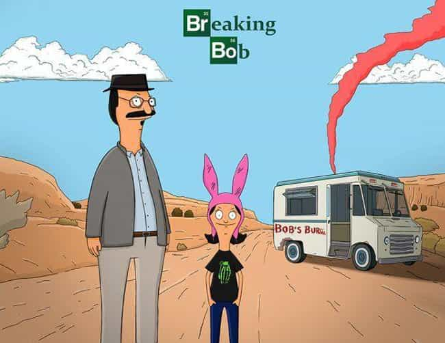 I Am the One Who Cooks is listed (or ranked) 2 on the list 25 Hilarious Bob's Burgers Pop Culture Mashups