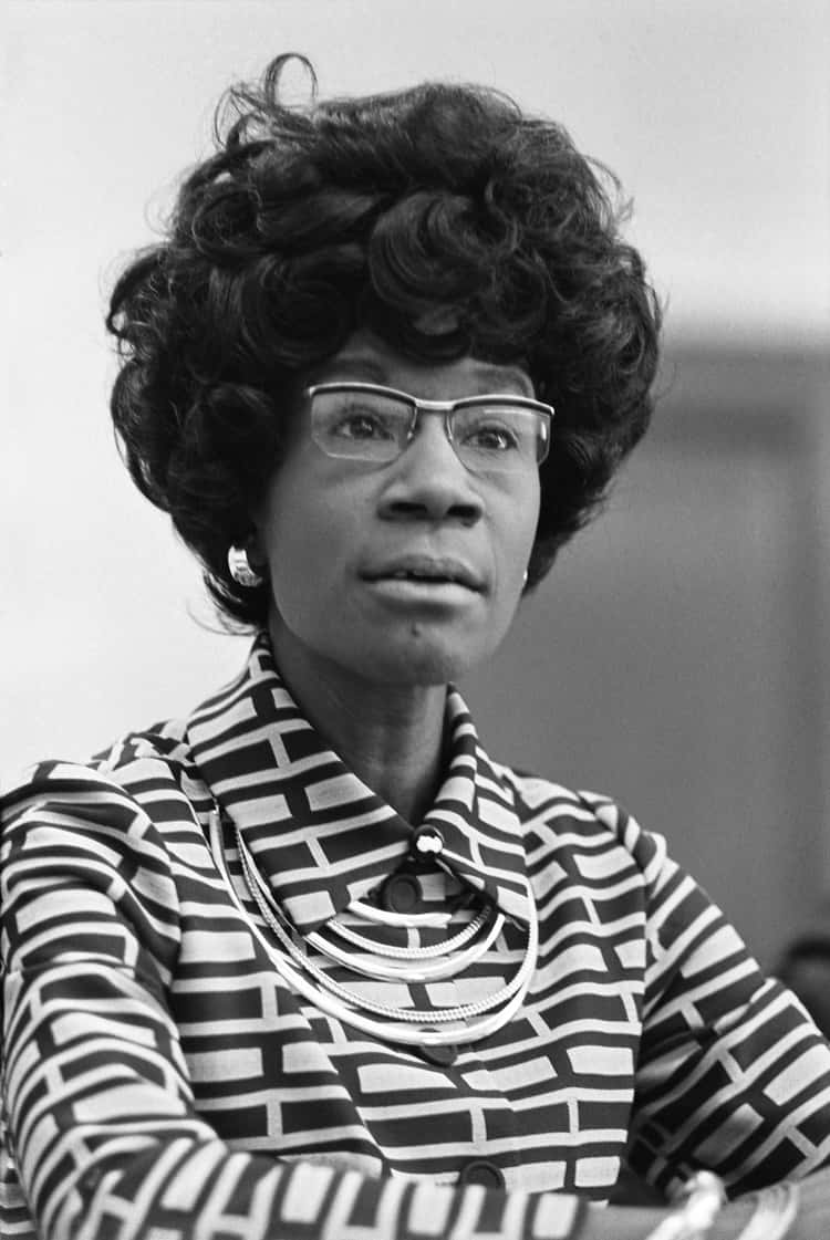 Shirley Chisholm, the First Black Congresswoman