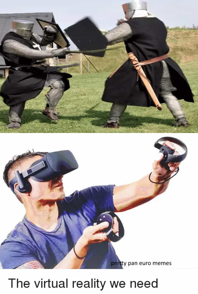 26 funny virtual reality memes about the future of gaming viraluck