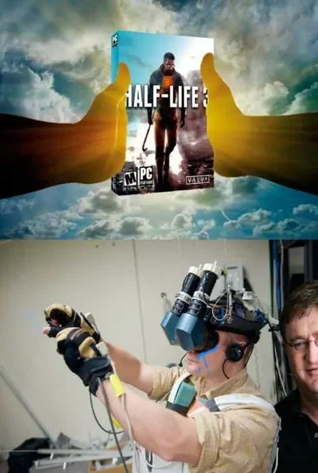 26 funny virtual reality memes about the future of gaming