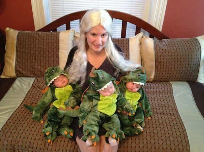 Mother of Sleepy Dragons... is listed (or ranked) 5 on the list Awesome Parent/Kid Costumes for Nerdy Moms and Dads Everywhere
