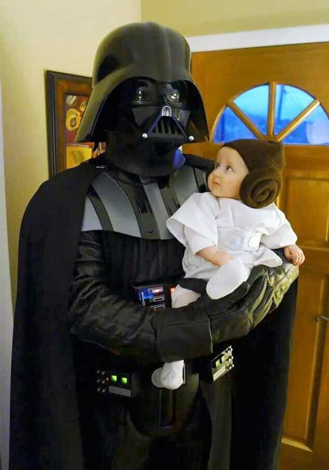 If Only Padme Had Lived to See... is listed (or ranked) 3 on the list Awesome Parent/Kid Costumes for Nerdy Moms and Dads Everywhere