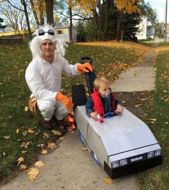 MARTY! You... Okay, We M... is listed (or ranked) 7 on the list Awesome Parent/Kid Costumes for Nerdy Moms and Dads Everywhere