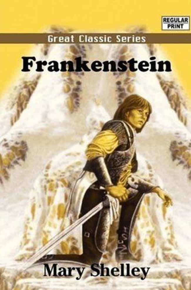 Joan of Arc Is in Frankenstein... is listed (or ranked) 1 on the list The Weirdest Book Covers Ever Published
