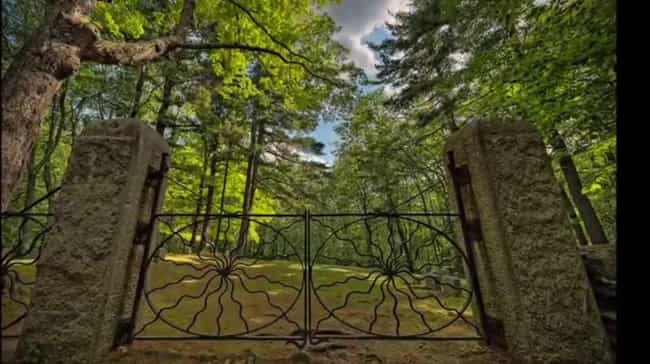 Spider Gates Cemetery Is A Gat... is listed (or ranked) 1 on the list 12 Scary Stories And Urban Legends From Massachusetts