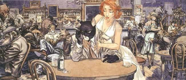 Blacksad is listed (or ranked) 2 on the list The 12 Strangest Superheroes from Around the World