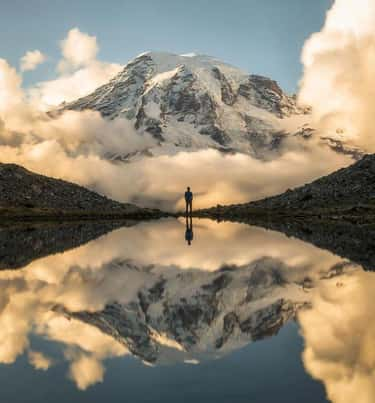 Washington's Mount Rainier is listed (or ranked) 1 on the list The Most Treacherous Hikes in the United States