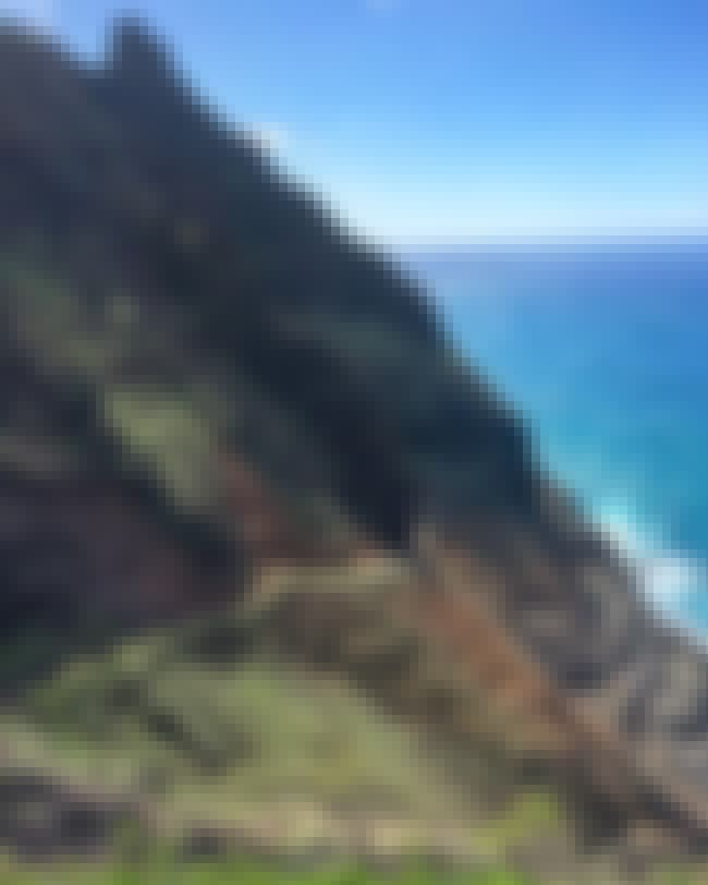 Kalalau Trail in Kauai Will Ke... is listed (or ranked) 4 on the list The Most Treacherous Hikes in the United States