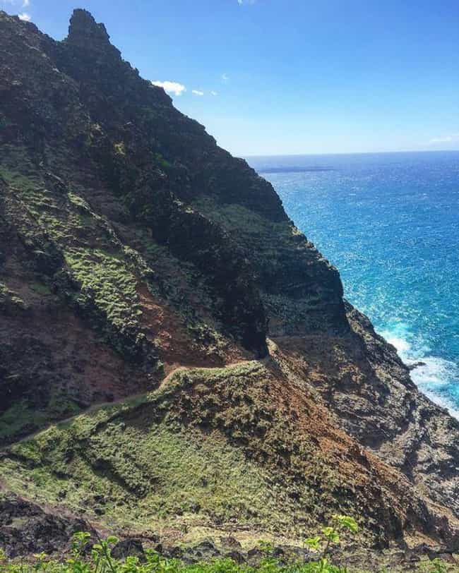Kalalau Trail in Kauai W... is listed (or ranked) 4 on the list The Most Treacherous Hikes in the United States