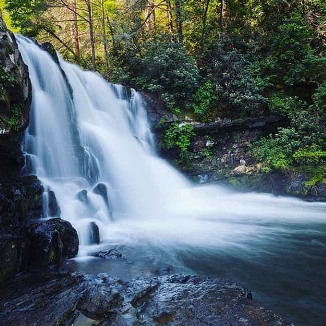 Abrams Falls, in the Great Smo... is listed (or ranked) 11 on the list The Most Treacherous Hikes in the United States