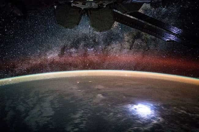 Stargazing in the Midst ... is listed (or ranked) 2 on the list The Best Pictures from the ISS