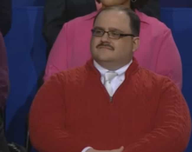 Ken Bone Didn't Choose the Mem... is listed (or ranked) 1 on the list Town Hall Debate Audience Members Whose Faces Spoke for All of Us