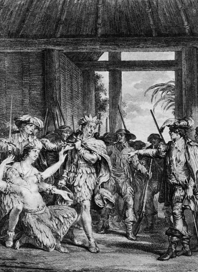 They Vowed to Spare an Inca Ru... is listed (or ranked) 1 on the list 15 Brutal Ways Conquistadors Killed Native People