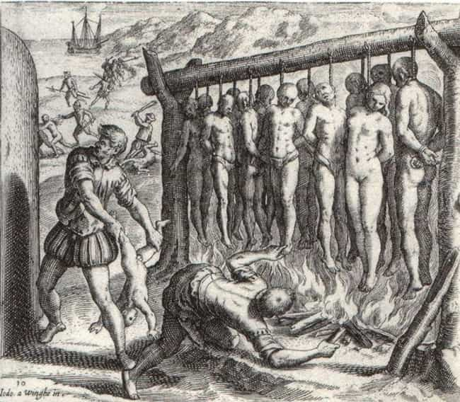 They Devised a Way to Hang Nat... is listed (or ranked) 4 on the list 15 Brutal Ways Conquistadors Killed Native People