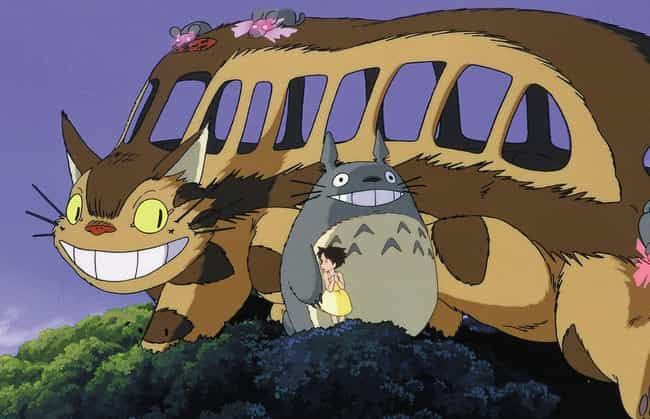 Totoro Is a God of Death is listed (or ranked) 3 on the list 7 Disturbing Studio Ghibli Fan Theories About Your Favorite Anime Films