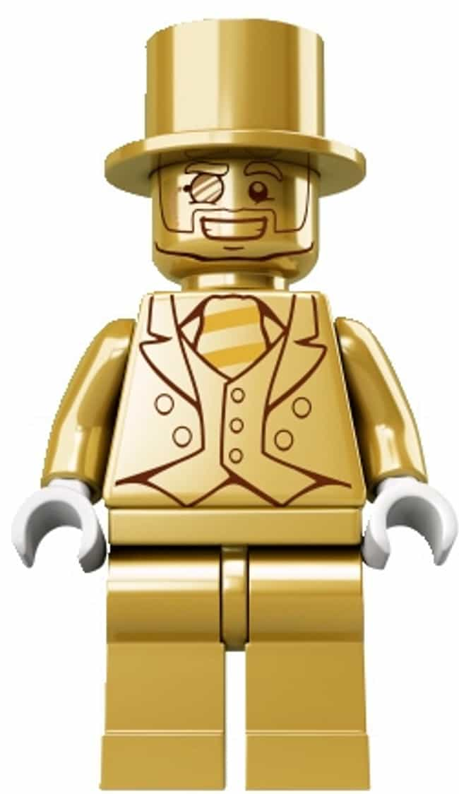 Mr. Gold is listed (or ranked) 4 on the list Rare, Weird, Or Super-Expensive Lego Sets You'll Probably Never Play With