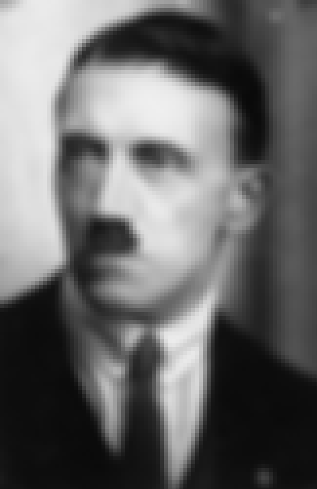 Adolf Hitler – Failed Art Stud... is listed (or ranked) 1 on the list 14 Normal Jobs Nazi Leaders Used To Have That Prove Evil Can Come From Anywhere