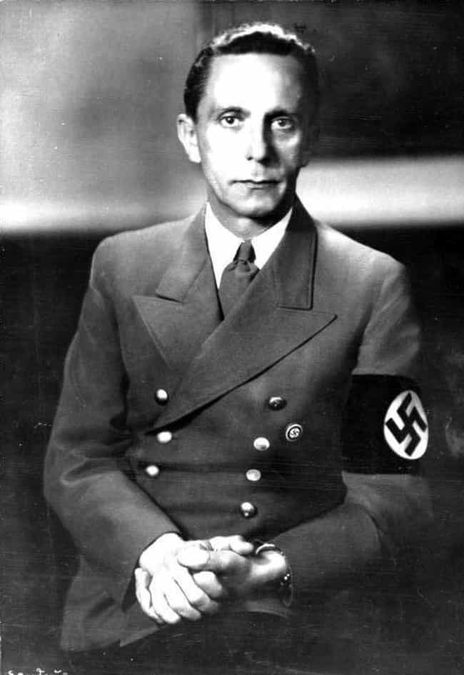 Joseph Goebbels – Bank C... is listed (or ranked) 3 on the list 14 Normal Jobs Nazi Leaders Used To Have That Prove Evil Can Come From Anywhere