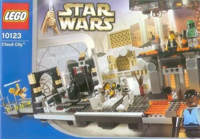 Cloud City is listed (or ranked) 3 on the list Rare, Weird, Or Super-Expensive Lego Sets You'll Probably Never Play With