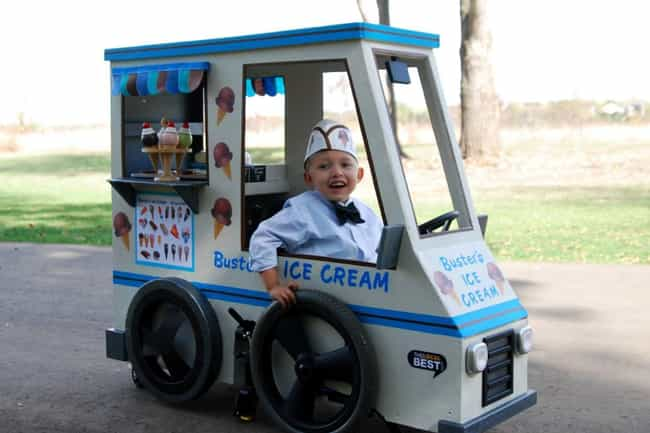 We All Scream For Trick Or Tre... is listed (or ranked) 1 on the list These Amputees Are Turning Their Disability Into Clever And Creative Halloween Costumes