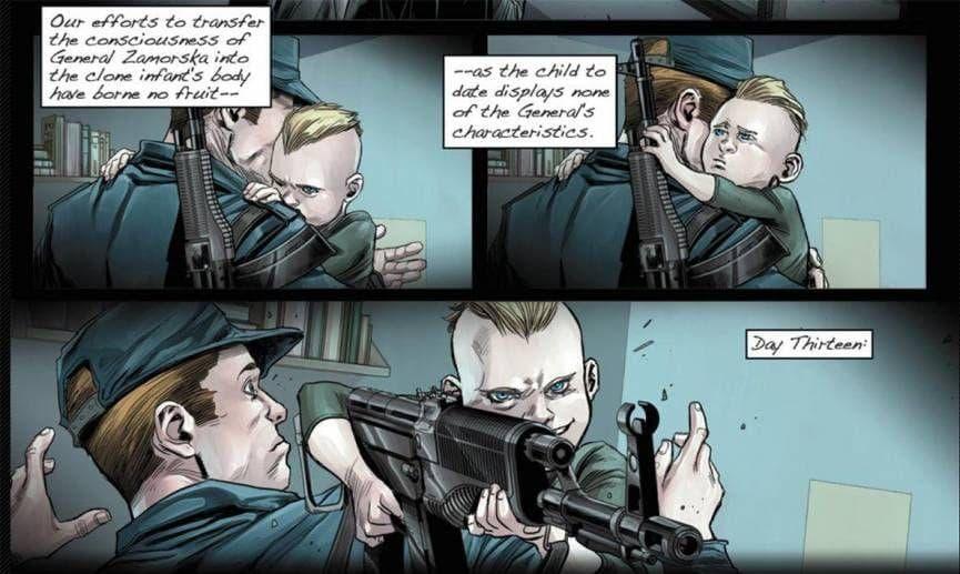 Image of Random Horrifying Kids in Marvel Comics Who Killed People in Ultra Violent Ways