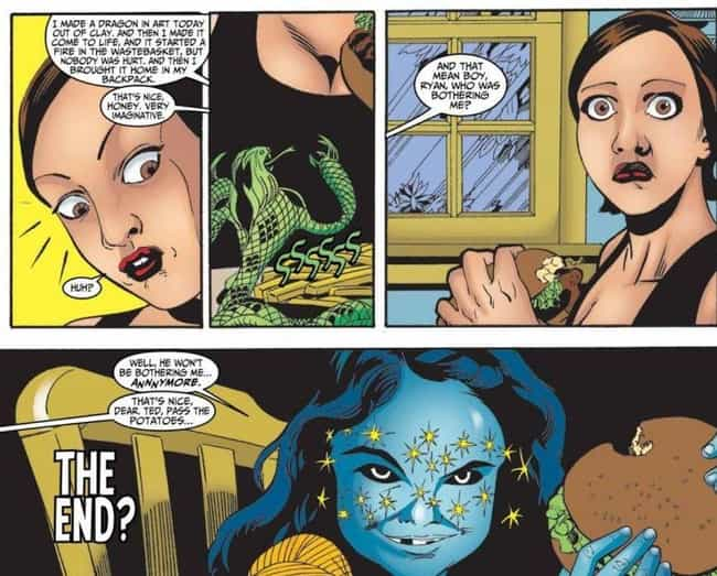 Kelly and Donna Kooliq Could D... is listed (or ranked) 4 on the list 12 Horrifying Kids in Marvel Comics Who Killed People in Ultra Violent Ways