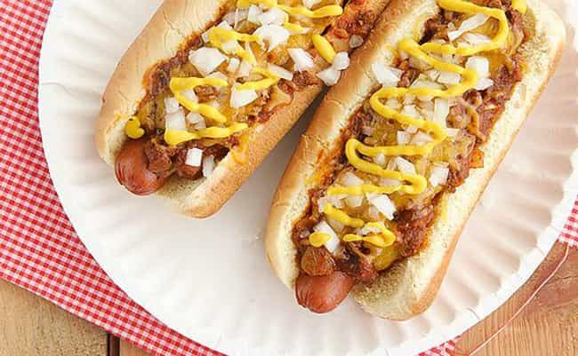 The Coney Island Dog - NYC, US... is listed (or ranked) 1 on the list 27 Pictures of What Hot Dogs Look Like Around the World