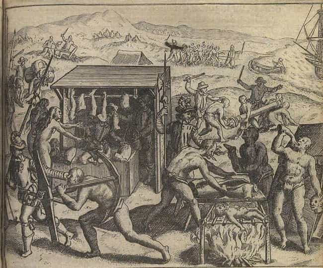 They Fed Native People to Dogs is listed (or ranked) 3 on the list 15 Brutal Ways Conquistadors Killed Native People