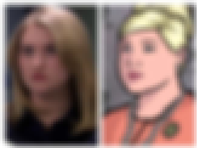 Jillian Bell and Pam Poovey is listed (or ranked) 3 on the list 23 People Who Look Exactly Like Archer Characters