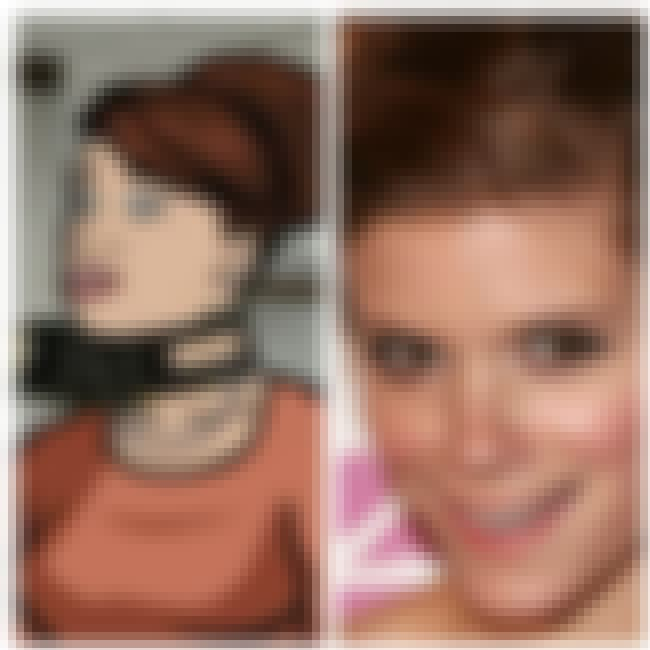 Cheryl Tunt and Kate Mara is listed (or ranked) 3 on the list 23 People Who Look Exactly Like Archer Characters
