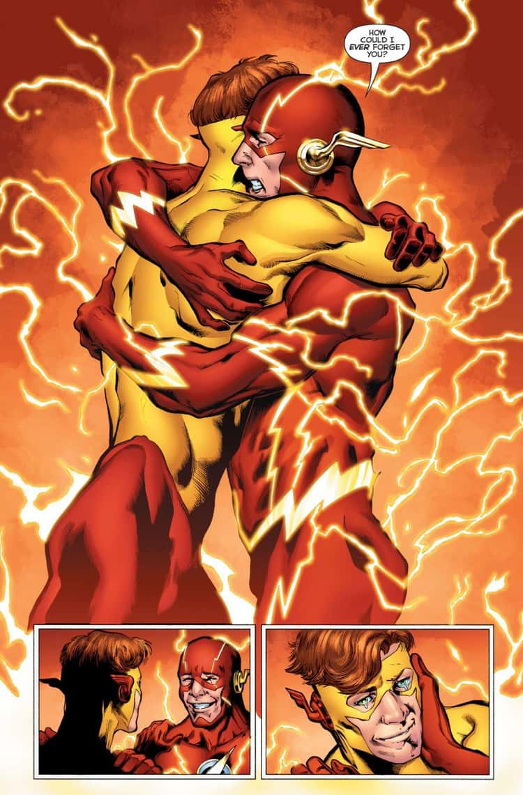 Barry Allen Remembering Wally West in DC Universe Rebirth