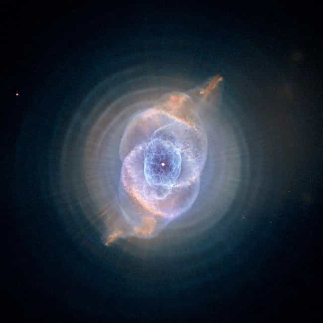 A Cosmic Cat Eye is listed (or ranked) 4 on the list The Best Pictures from the Hubble Telescope