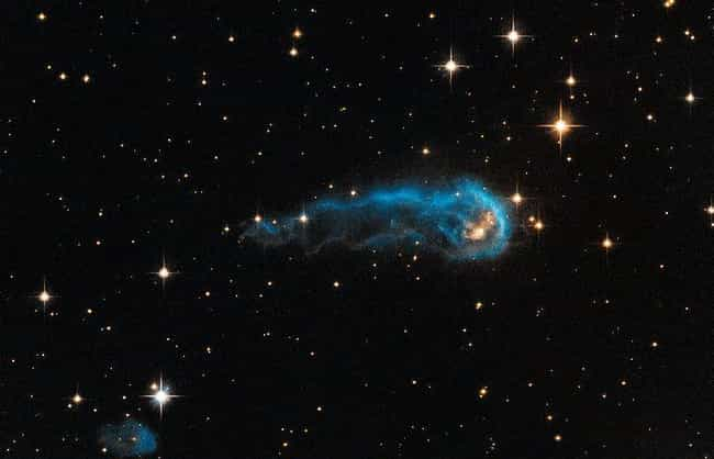 A Space Worm Tries to Inch Out... is listed (or ranked) 1 on the list The Best Pictures from the Hubble Telescope