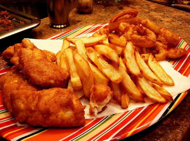 Chips - UK is listed (or ranked) 3 on the list What French Fries Look Like Around the World