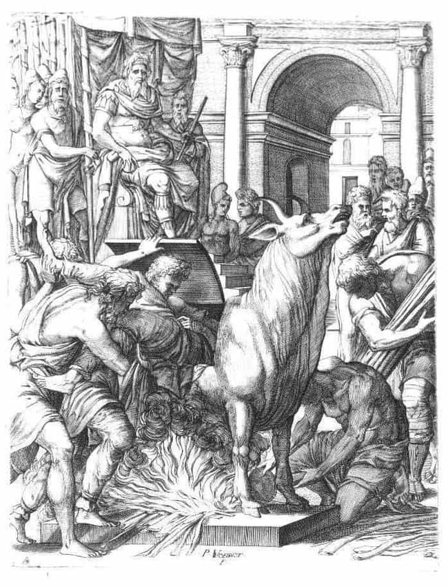 The Brazen Bull, Roastin... is listed (or ranked) 3 on the list 6 Exceedingly Strange, WTF Torture Methods From History