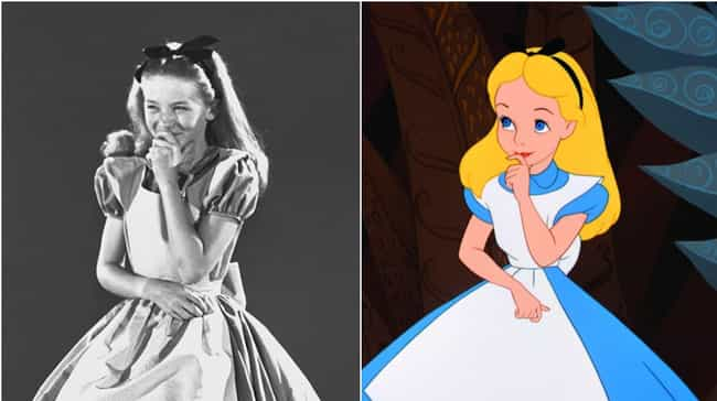 Kathryn Beaumont And Ali... is listed (or ranked) 4 on the list 20 Voice Actors Who Look Exactly Like Their Characters
