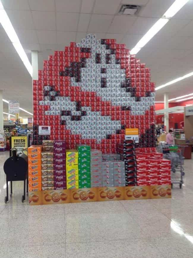 Who You Gonna Call? is listed (or ranked) 1 on the list These Supermarkets Are Not Messing Around When It Comes to Their Displays