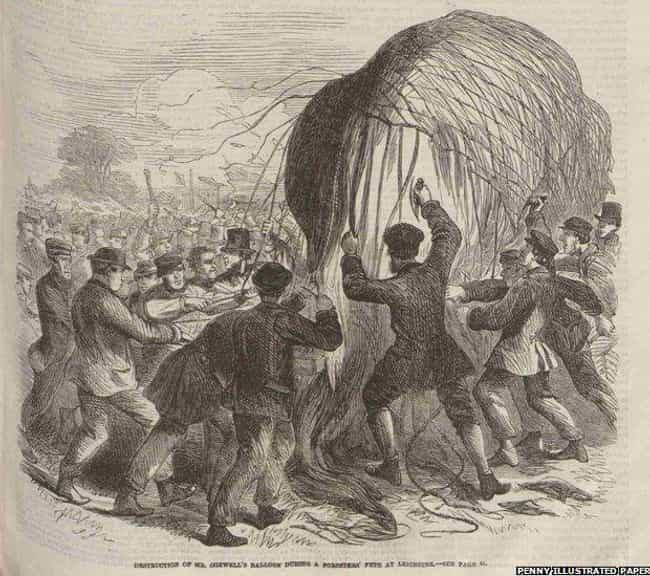 The Balloon Riot of 1864... is listed (or ranked) 4 on the list The 10 Craziest, Most Ridiculous Riots of the 19th Century