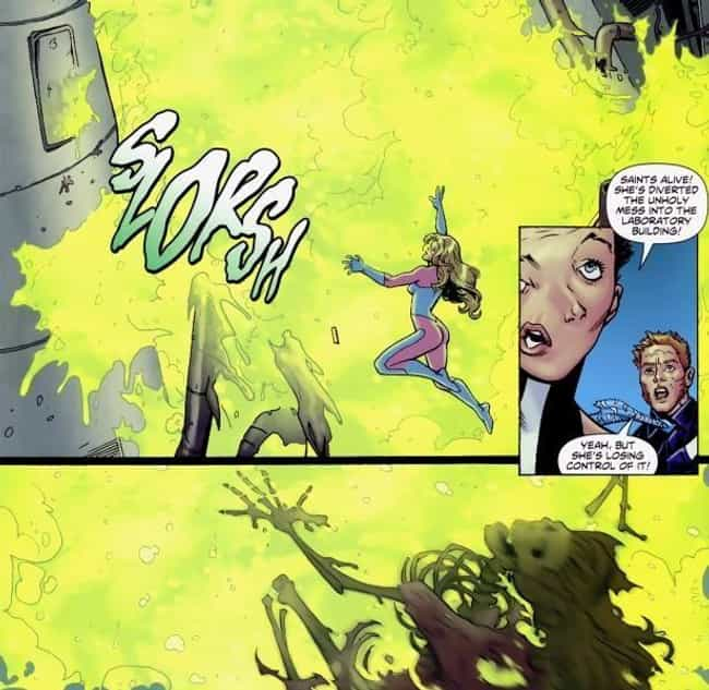 Windfall Gets Melted Down to N... is listed (or ranked) 4 on the list 12 Crazy Gruesome Moments in Suicide Squad Comics