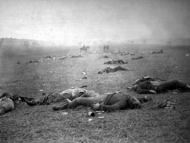 The Aftermath of the Bat... is listed (or ranked) 1 on the list 23 Astounding Civil War Battlefield Photos