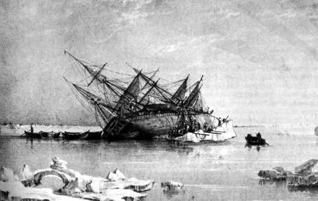 The HMS Terror is listed (or ranked) 4 on the list The 14 Most Unbelievably Tragic Shipwrecks In History