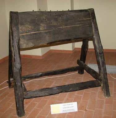 The Spanish Donkey Cut Women In Half During The Inquisition