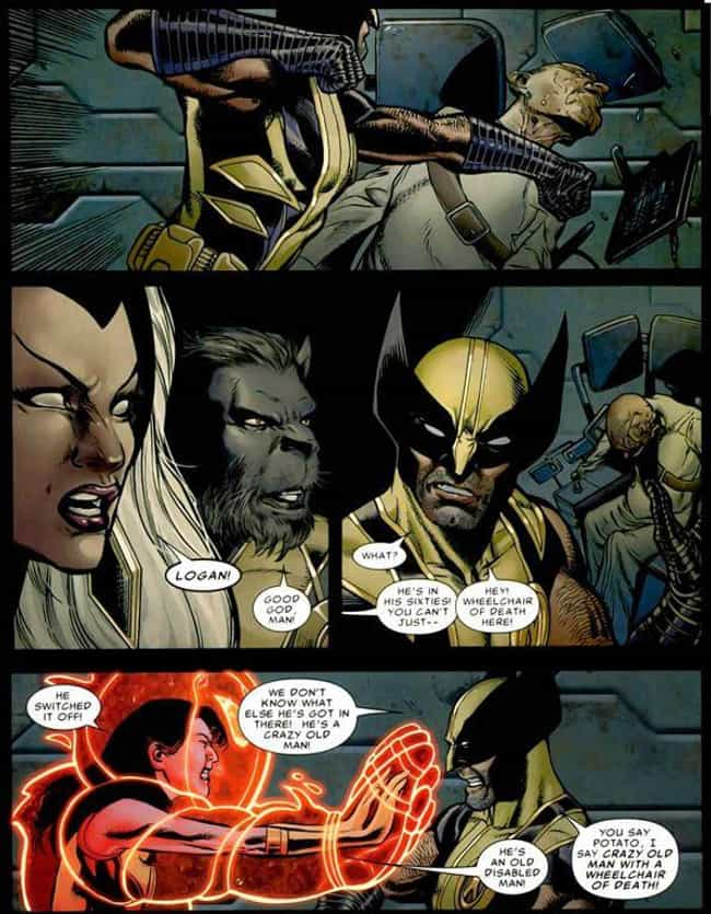 The Rare Time That Logan Has a... is listed (or ranked) 3 on the list 15 Moments That Prove Wolverine Is WAY Funnier Than Deadpool