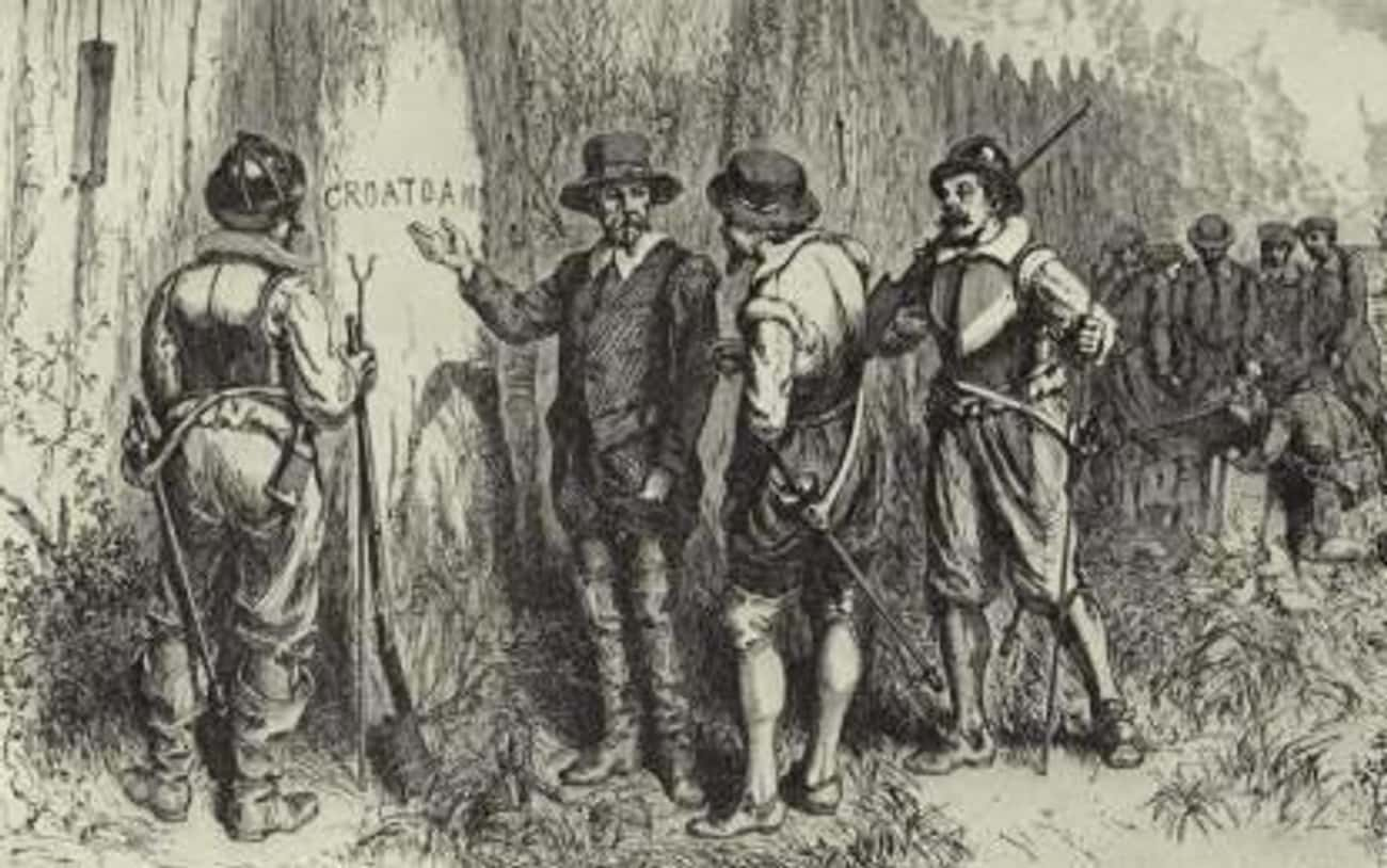'Croatoan' Appears At  is listed (or ranked) 4 on the list Utterly Fascinating Theories Behind The Vanishing Roanoke Colony