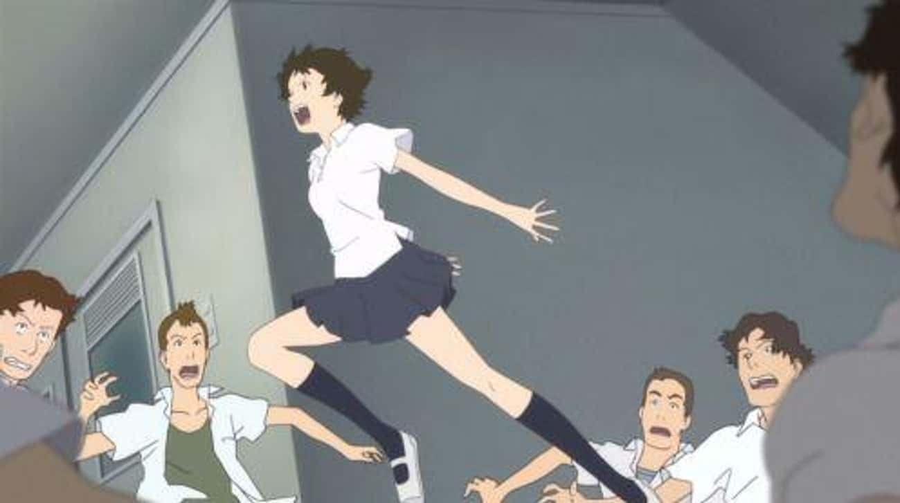 The Girl Who Leapt Through Tim is listed (or ranked) 4 on the list The 15 Best Anime Films That Aren't Studio Ghibli