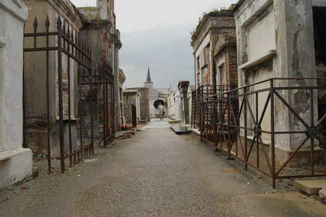 St. Louis Cemetery In Ne... is listed (or ranked) 4 on the list 11 Super Creepy Cemeteries In The US You Can Visit Today