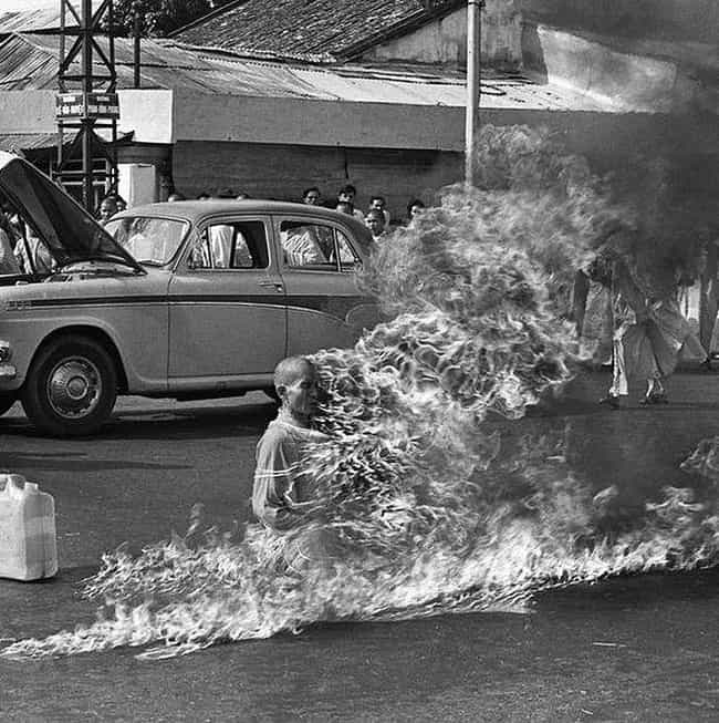 Thich Quang Duc is listed (or ranked) 1 on the list 13 People Who Literally Set Themselves On Fire In Protest