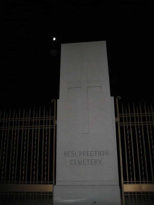 Resurrection Cemetery In Chica... is listed (or ranked) 2 on the list 11 Super Creepy Cemeteries In The U.S. You Can Visit Today