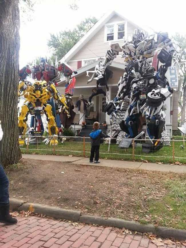 But Where Do You Keep Them the... is listed (or ranked) 3 on the list The Funniest and Most Over-the-Top Halloween Decorations in America