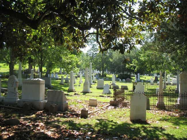 Glenwood Cemetery In Mississip... is listed (or ranked) 3 on the list 11 Super Creepy Cemeteries In The U.S. You Can Visit Today